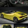 Lamborghini presenta la Huracan RWD Spyder al Salone di Los Angeles7