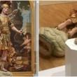 Museo Lisbona, rompe statua del XVIII secolo per scattare un selfie3