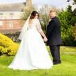 Neo sposini al matrimonio simulano....La FOTO fa discutere2