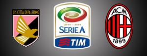 Palermo-Milan diretta live, formazioni ufficiali dalle ore 14