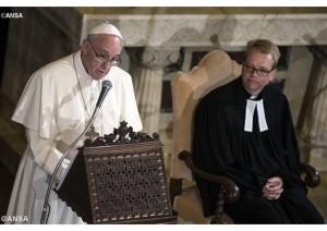 Papa Francesco ha tolto Lutero dall' Inferno, la Rai tolga dal Limbo le news sui protestanti