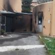 Roma, bruciano asilo7