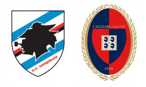 Sampdoria-Cagliari formazioni ufficiali, video gol highlights e pagelle