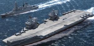 Gran Bretagna spende 8 miliardi per due portaerei ma non ha i soldi per gli impianti elettrici