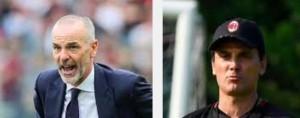 Milan-Inter, ecco il derby 'cinese': esordio Pioli, Montella per alta classifica