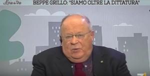 """YOUTUBE Referendum, Giuliano Cazzola: """"Con Beppe Grillo bisogna prendere le armi"""""""