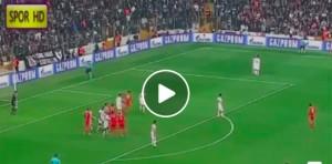 Besiktas-Benfica 3-3, video gol highlights Champions League