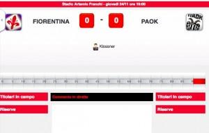 Fiorentina-Paok