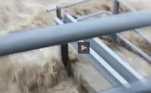 YOUTUBE Maltempo a Mondovì, fiume rischia esondazione al Ponte della Madonnina