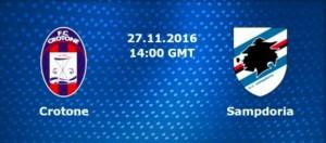 Crotone-Sampdoria streaming - diretta tv, dove vederla