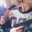YOUTUBE-FOTO Sparano a 15 anni contro polizia e mettono diretta su Periscope. Poi si uccidono