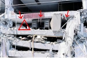 """Terremoto, come salvarsi: la teoria del """"triangolo della vita"""" di Doug Copp"""
