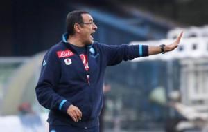 """Napoli, Maurizio Sarri: """"Prestazione ottima ma pareggio amaro"""""""