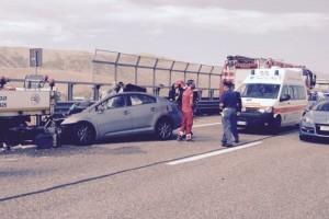 Guarda la versione ingrandita di Incidente tra Frosinone e Ceprano: un morto, code su autostrada A1 (foto d'archivio Ansa)