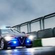 Alfa Romeo Giulia Quadrifoglio Carabinieri: le nuove FOTO in pista 02