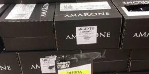 Amarone Valpolicella falso svenduto al Black Friday: Auchan lo ritira