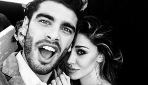 Stefano Sala e Belen Rodriguez (foto Instagram)