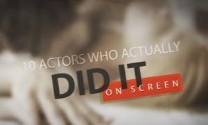 Guarda la versione ingrandita di YOUTUBE Rapporti davanti la cinepresa: gli attori che l'hanno fatto davvero sul set
