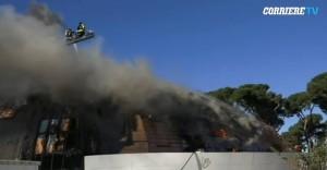 Roma: a fuoco auditorium mai aperto, 10 anni per costruirlo