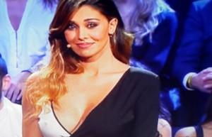 Belen Rodriguez e l'abito indossato nella puntata finale di Tu sì que vales