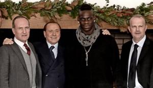 """Mario Balotelli: """"Moratti un padre, Berlusconi invece...non è un signore"""""""