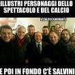 Silvio Berlusconi si fa una foto con le vecchie glorie del Milan: ma tra Paolo Maldini, Franco Baresi e Daniele Massaro spunta...Matteo Salvini3