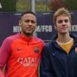 YOUTUBE Justin Bieber si allena con il Barcellona