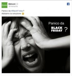 Black Friday e sei nel panico? La soluzione di Edison...su Fb