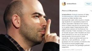 """Flavio Briatore-Roberto Saviano, lite social. """"Sei ricco, pagati scorta da solo"""""""