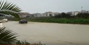 Maltempo Calabria: allagamenti nella Locride, scuole chiuse