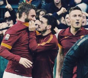 """Lazio-Roma. Totti, De Rossi, Florenzi: appello alla Curva Sud: """"Tornate per il derby"""""""