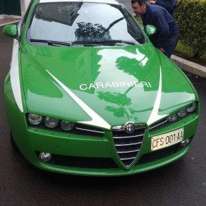 """Carabinieri, arrivano le auto verdi: """"riciclate"""" dopo accorpamento con la Forestale..."""