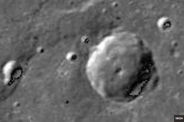"""Casa aliena su Mercurio"": misteriosa FOTO della Nasa"
