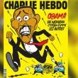 Charlie Hebdo, la copertina: Barack Obama in fuga dai poliziotti armati FOTO