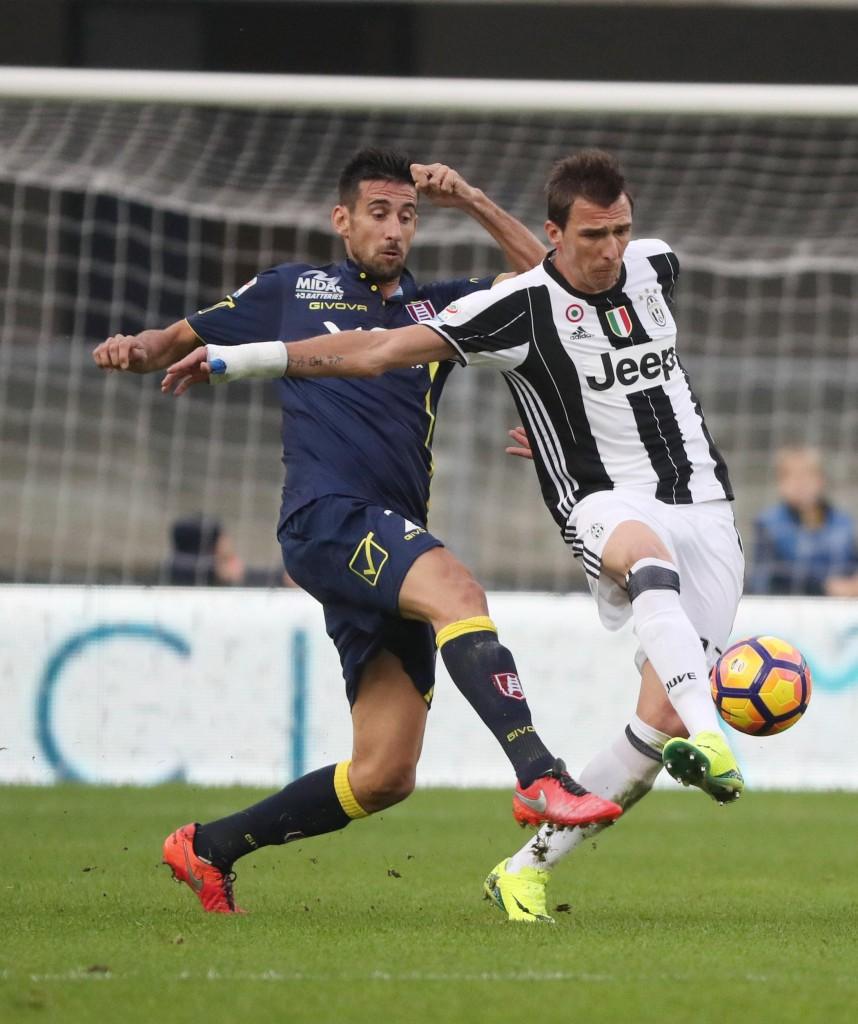Chievo - Juventus (foto Ansa)