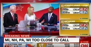 """Donald Trump, commentatore nero Cnn: """"Come lo spiegherò ai miei figli?"""""""