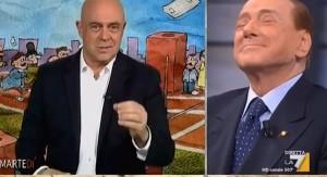 """YOUTUBE Maurizio Crozza a Berlusconi: """"Lei è come Lino Banfi..."""""""