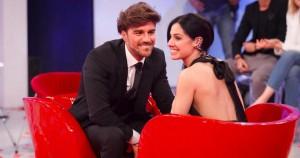 Andrea Damante e Giulia De Lellis, scintille in tv e la D'Urso fa da paciera