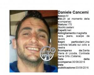 Daniele Cancemi, sparito a agosto: trovato corpo decomposto, testa mozzata