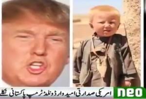 """VIDEO YOUTUBE Tv: """"Donald Trump pakistano e musulmano"""". La prova? Una FOTO"""
