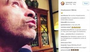 Eros Ramazzotti festeggia compleanno su Instagram