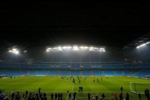 Manchester City-Barcellona, stadio evacuato: paura all'Etihad
