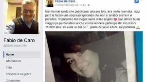 Fabio De Caro, Malammore di Gomorra ha perso la moglie. Lutto per Fabio De Caro, il Malammore di Gomorra ha perso la moglie Laura. Straziante post su Facebook