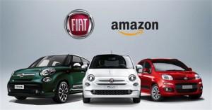Fiat 500 e Panda si acquistano online su Amazon. Sconti fino al 33%