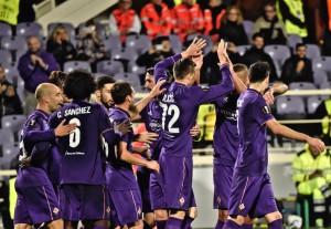 Guarda la versione ingrandita di  Fiorentina - Slovan Liberec 3-0 (foto Ansa)