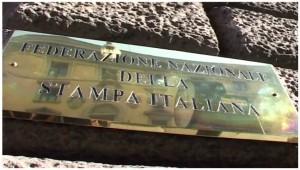 Fnsi, sit-in a Roma: basta carcere giornalisti e querele temerarie