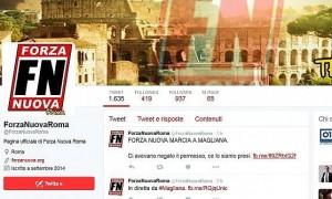 Guarda la versione ingrandita di Forza Nuova vs centri sociali alla Magliana (Roma). Cortei non autorizzati