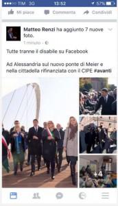 Chi è Federico Negri, il ragazzo disabile della foto con Renzi
