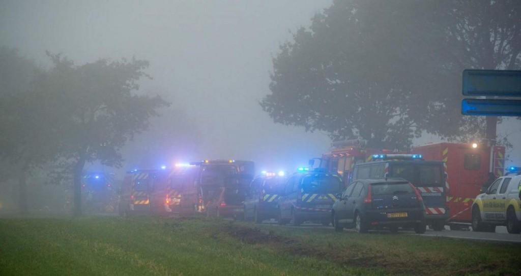 Francia, scontro tra bus scuola e camion a Bavincourt: un morto FOTO