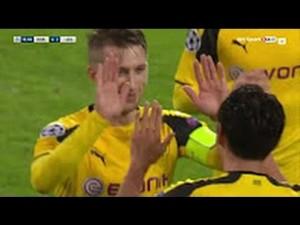 Borussia Dortmund-Legia Varsavia 8-4, video gol highlights Champions League
